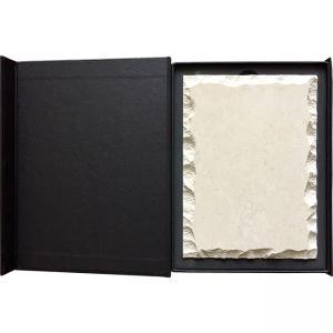 Дървена кутия за врачански камък размери 13x18см
