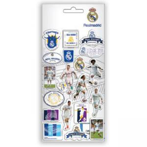 Стикери Real Madrid, размер 10x22 см